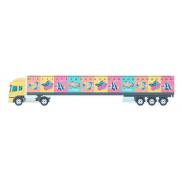 Linijka 30cm, ciężarówka