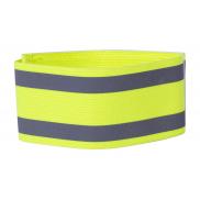 Odblaskowa opaska na ramię - żółty fluorescencyjny