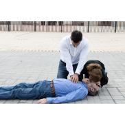 Maska CPR - czerwony