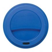 Ekologiczny kubek podróżny 350 ml - niebieski