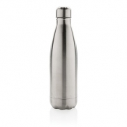 Próżniowa butelka sportowa 500 ml - srebrny