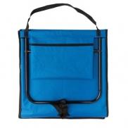 Składane krzesło plażowe - niebieski