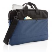Pokrowiec na dokumenty i laptopa 15' - niebieski