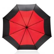 Automatyczny parasol sztormowy 27' - czerwony