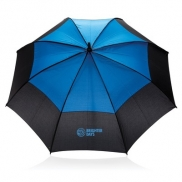 Automatyczny parasol sztormowy 27' - niebieski