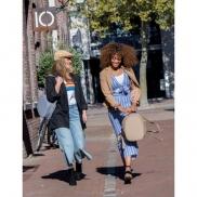 Elle Fashion plecak chroniący przed kieszonkowcami - brązowy