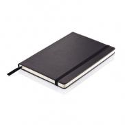 Notatnik A5 Deluxe, twarda okładka - czarny