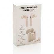 Bezprzewodowe słuchawki douszne Liberty - biały