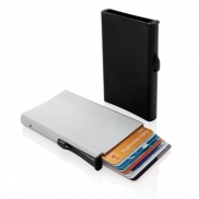 Etui na karty kredytowe, ochrona RFID - czarny