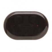 Bezprzewodowe słuchawki douszne TWS Light Up Logo - czarny