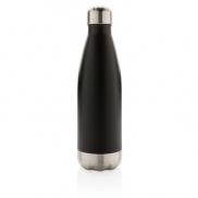 Próżniowa butelka sportowa 500 ml - czarny