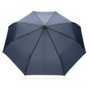 Ekologiczny parasol automatyczny rPET 21' - niebieski