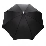 Manualny parasol sztormowy 23', światło LED - czarny