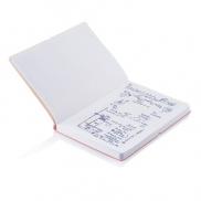 Notatnik A5 Deluxe, miękka okładka - żółty