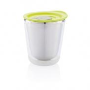 Kubek termiczny 227 ml Dia - zielony, szary
