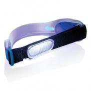 Pasek bezpieczeństwa LED - niebieski