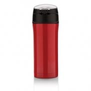Kubek termiczny 300 ml - czerwony, czarny