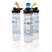 Butelka sportowa 800 ml - niebieski