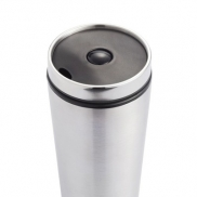 Kubek podróżny 350 ml - srebrny