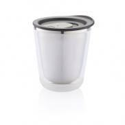 Kubek termiczny 227 ml Dia - czarny, szary