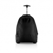 Plecak biznesowy, torba na kółkach - czarny