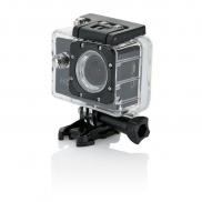Kamera sportowa HD z 11 akcesoriami - czarny, czarny