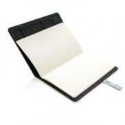Notatnik A5 Kyoto, pamięć USB - szary