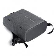 Urban plecak chroniący przed kieszonkowcami - szary