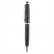 Zestaw piśmienny, długopis i pióro kulkowe - czarny