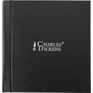 Zestaw piśmienny Charles Dickens, ołówek mechaniczny, długopis i etui - czarny