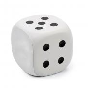 Antystres 'kostka do gry' - biały