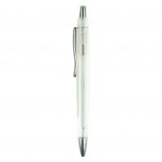 Notatnik A6 z długopisem - biały