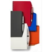 Notatnik A5 z długopisem - biały