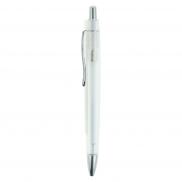 Notatnik A4 z długopisem - biały