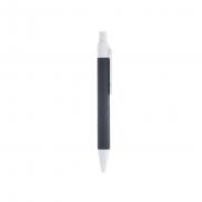 Notatnik ok. A7 z długopisem - czarny