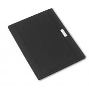 Teczka konferencyjna A4 z notatnikiem - czarny