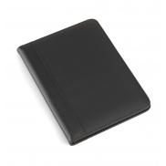 Teczka konferencyjna A4 z notatnikiem i kalkulatorem - czarny