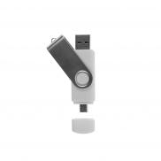 Pamięć USB 'twist' - biały