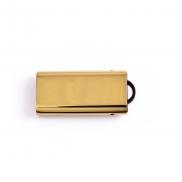 Wysuwana pamięć USB - złoty