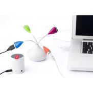 Hub USB 2.0 - biały