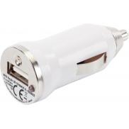 Ładowarka samochodowa USB - biały