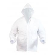 Płaszcz przeciwdeszczowy - biały