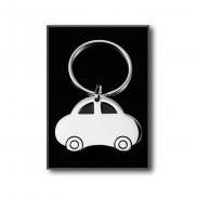 Brelok do kluczy 'samochód' - srebrny