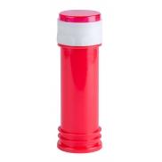 Urządzenie do robienia baniek mydlanych z grą - czerwony