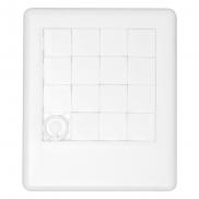 Puzzle kieszonkowe - biały