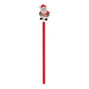 Ołówek świąteczny - czerwony