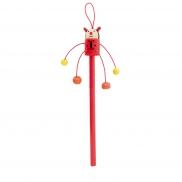 Ołówek 'zwierzątko' - czerwony