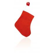 Skarpeta świąteczna - czerwony