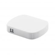 Pojemnik na tabletki z 4 przegrodami - biały
