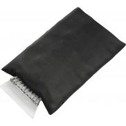Skrobaczka z rękawiczką - czarny